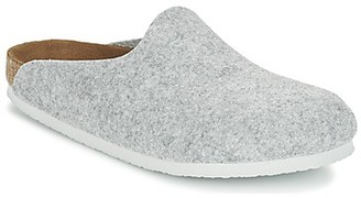 Birkenstock AMSTERDAM women's Clogs (Shoes) in Grey