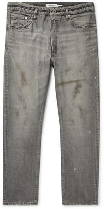 Nonnative Dweller Distressed Selvedge Denim Jeans