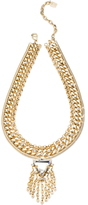 Dannijo Garr Crystal Bib Necklace