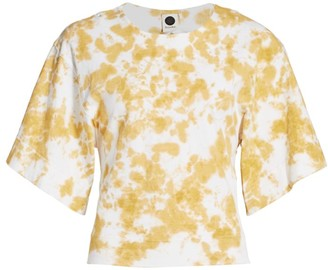 Bassike Tie-Dye Batwing T-Shirt