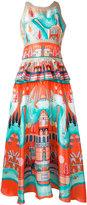Temperley London Nymph peplum dress - women - Silk - 8