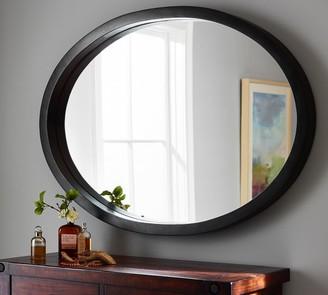 Pottery Barn Venz Mango Wood Oval Mirror