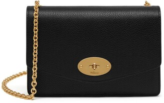 Mulberry Small Darley Black Small Classic Grain