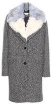 Carven Virgin Wool-blend Coat