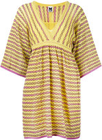 M Missoni knitted mini dress - women - Cotton/Polyamide/Polyester/Metallic Fibre - 38