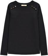 Sessun Cotton Flamà Shoulder Button Jima T-Shirt