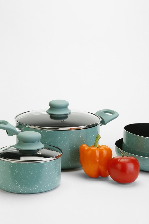 Urban Outfitters Speckled 7-Piece Cookware Set