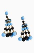 J.Crew Women's Beaded Chandelier Earrings