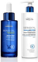 L'Oreal Professionnel Serioxyl Denser Hair Treatment and Shampoo for Natural Thinning Hair