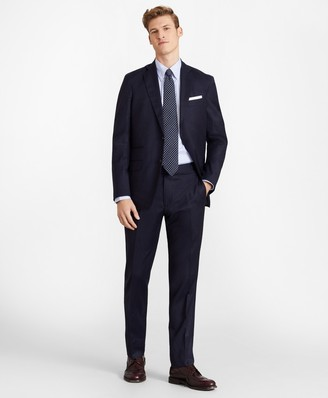 Brooks Brothers Golden Fleece Three-Button Flannel Suit