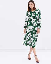 Dorothy Perkins Graphic Floral Midi