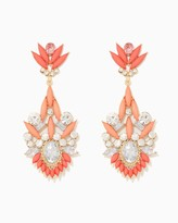 Charming charlie Fearless Marquise Earrings