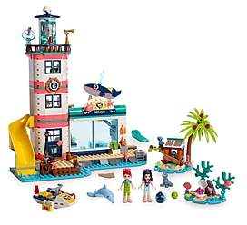 Lego Friends Lighthouse Rescue Center Set - Ages 6+