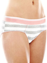 JCPenney Flirtitude Cotton Boykini Panty