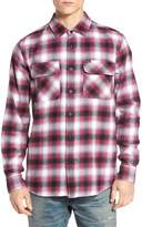 Obey Mission Plaid Flannel Sport Shirt