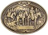 Sam Store Vintage Horse Belt Buckle Western Cowboy Native American Motorcyclist (HRS-11)