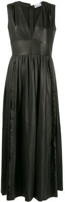 RED Valentino Sleeveless Leather Dress