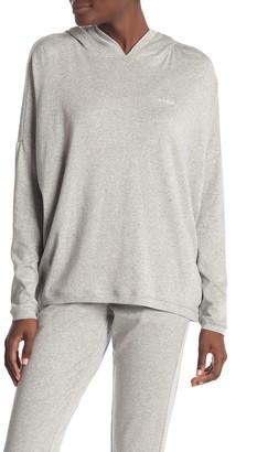 Calvin Klein Solid Dolman Sleeve Hoodie