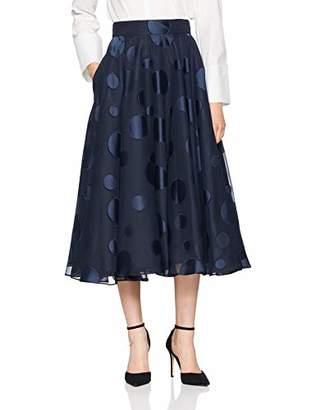 Coast Women's Ruth A-Line Polka Dot Skirt,8 (Manufacturer Size:8)