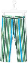 Il Gufo striped print trousers