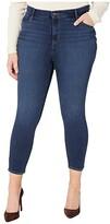 Levi's Plus Plus 721 High-Rise Ankle Skinny (Carbon Bay) Women's Jeans