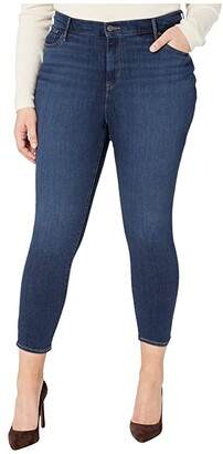 Levi's Plus 721 High-Rise Ankle Skinny (Carbon Bay) Women's Jeans