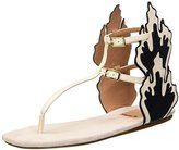 Kalliste Women's 5669 Open Toe Sandals Off-White Size: 6