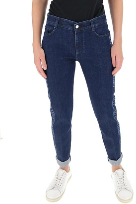 Stella McCartney Turn Up Hem Jeans