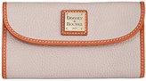 Dooney & Bourke Pebble Continental Clutch