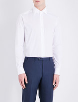 Corneliani Slim-fit cotton Oxford shirt