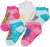 Asstd National Brand Shimmer and Shine 5-pk. Shorty Socks - Girls