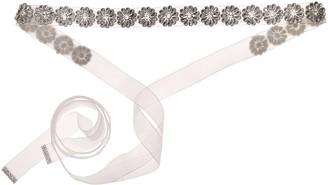 Nina Women's Rayleen Boho Floral Organza Bridal Belt