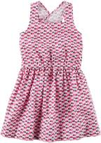 Carter's Toddler Girl Elephant Geometric Print Dress