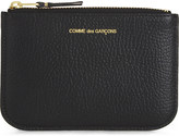 Comme des Garcons Small grained leather pouch