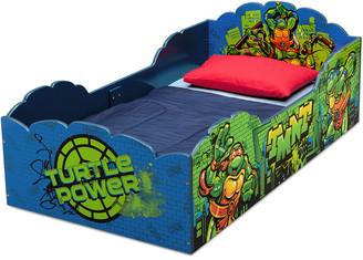 Equipment Delta Children Teenage Mutant Ninja Turtles Wood Toddler Bed