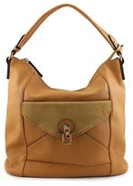 MG Collection Linnea Slouchy Synthetic Hobo.