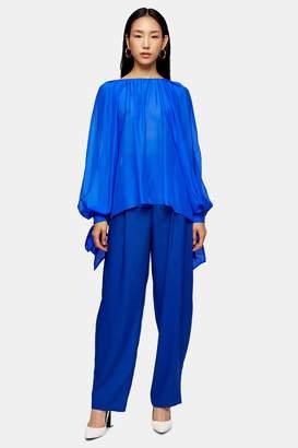 Topshop Cobalt Blue Peg Pants