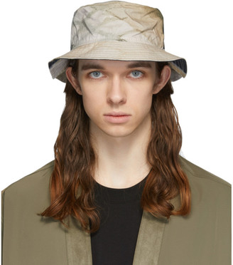 Song For The Mute Khaki and Taupe New Era Edition Car Bucket Hat