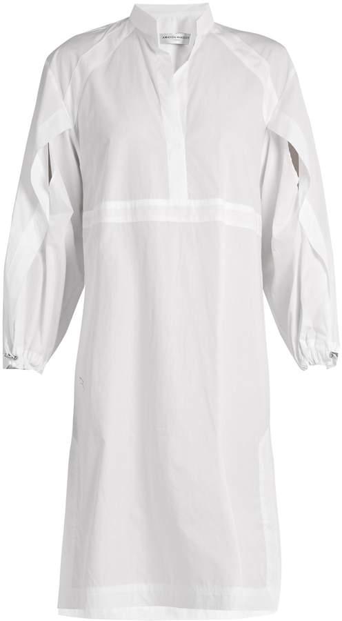 Amanda Wakeley Cotton-poplin shirtdress