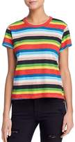 Pam & Gela Rainbow Striped Tee