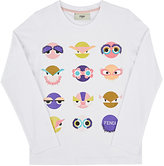 Fendi MONSTER-PRINT COTTON T-SHIRT