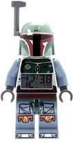 Lego Kids' 9003530 Star Wars Boba Fett Mini-Figure Light Up Alarm Clock (9.5 Inches Tall)