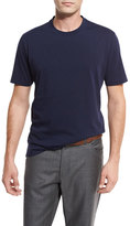 Brunello Cucinelli Cotton Crewneck T-Shirt, Blue