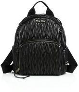 Miu Miu Matelasse Leather Backpack