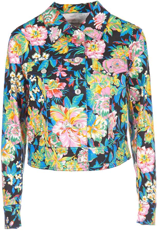 MSGM Floral Print Jacket