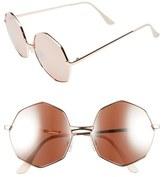 BP 58mm Octagon Metal Sunglasses
