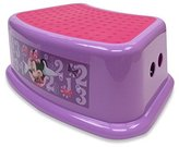 Ginsey Disney Mickey Mouse & Friends Minnie Mouse Step Stool Model: 67206 by Toys & Child