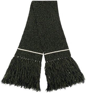 colville Chunky-Knit Fringe-Hem Scarf