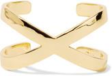Noir Gold-plated cuff