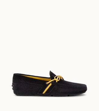 Tod's Tyre Gommino Driving Shoes in Suede